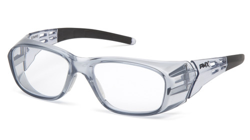 Pyramex SG9810R30 Clear Full Reader Lens with Gray Frame +3.0 (Each)