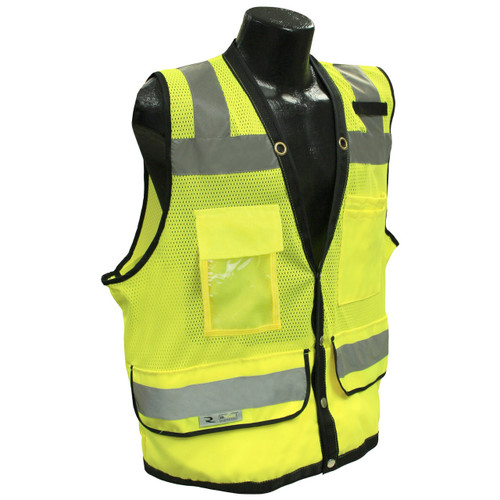 Radians SV59-2ZGD Class 2 Green Surveyor Vest with Tablet Pockets