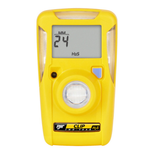 BW Clip Single Gas H2S Monitor