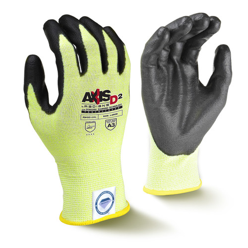 Radians RWGD100 Cut Protection Level A3 Touchscreen Glove (Pair)
