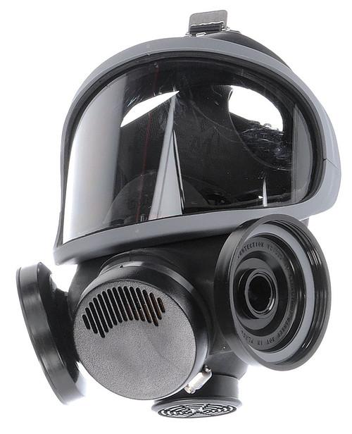 MSA Ultra-Twin Full-Facepiece Hycar Rubber Respirator