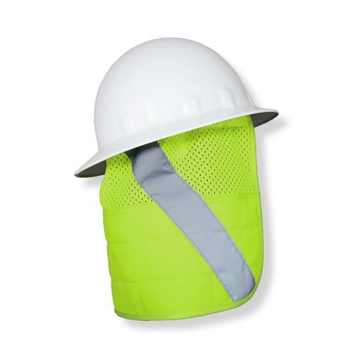 ML Kishigo 1622-BSK Lime Brisk Cooling Hard Hat Nape Protector