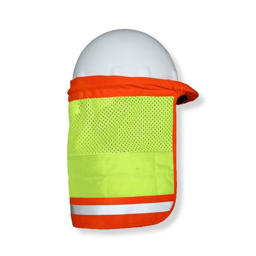 ML Kishigo 1624 Lime Brisk Cooling Hard Hat Sun Shield