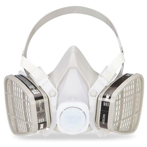 3M 5101 Half Facepiece Organic Vapor Respirator (S)