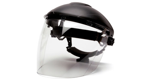 Pyramex S1110 Tapered Polycarbonate Face Shield
