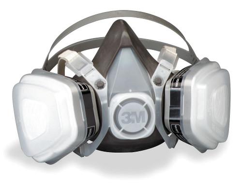3M 52P71 Half Facepiece Organic P95 Respirator Mask (Size/Medium)