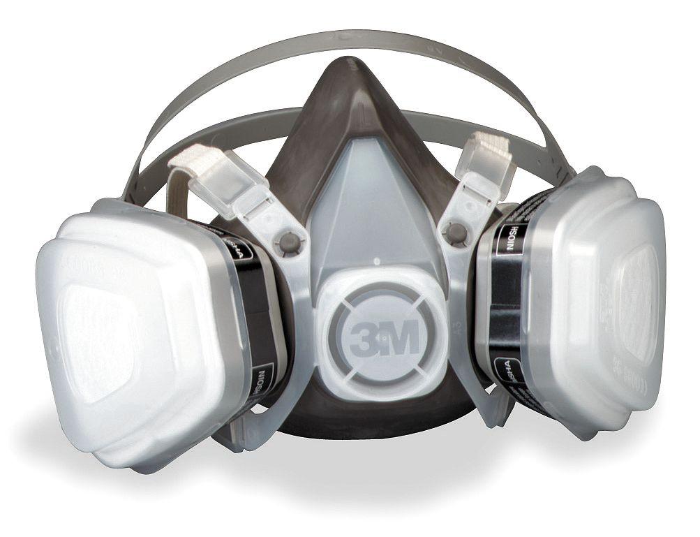 3M 52P71 Half Facepiece Organic and P95 Respirator (M)