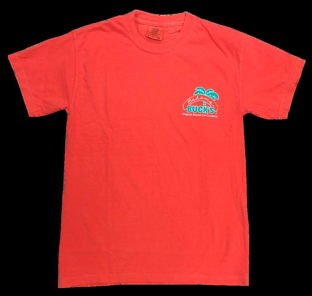 Coral Original Logo Tee front