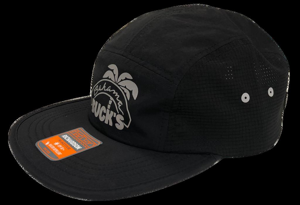 Black Reflective Original Logo 5-Panel Hat side