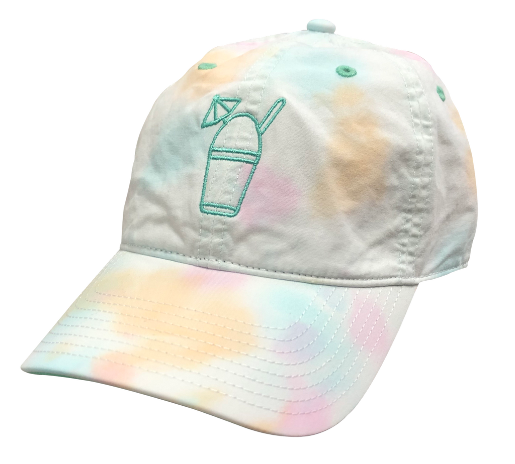 Front of Tie-Dye Hat