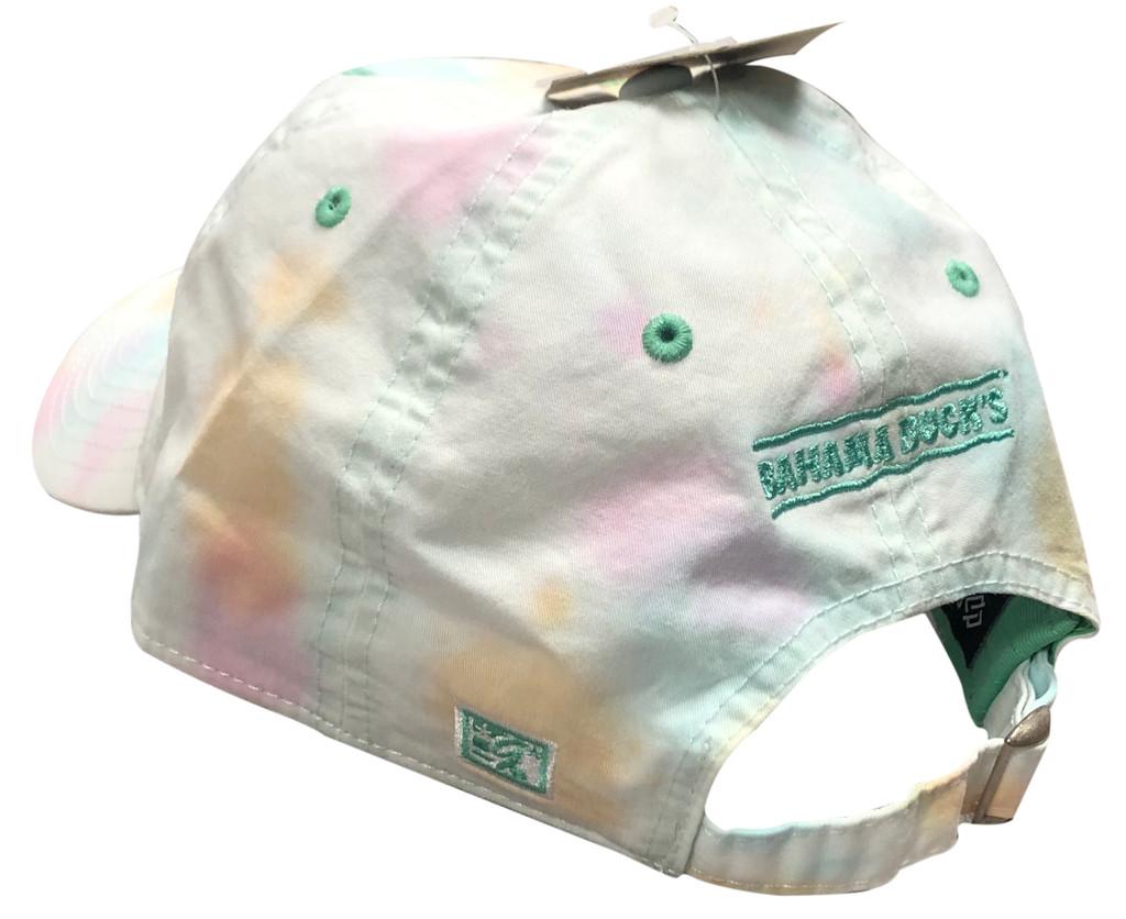 Side of Tie-Dye Hat