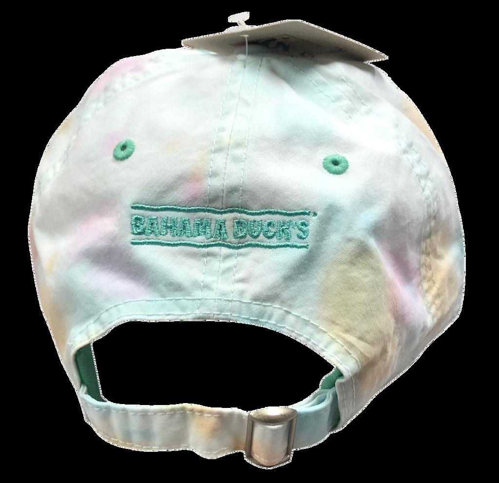 Back of Tie-Dye Hat