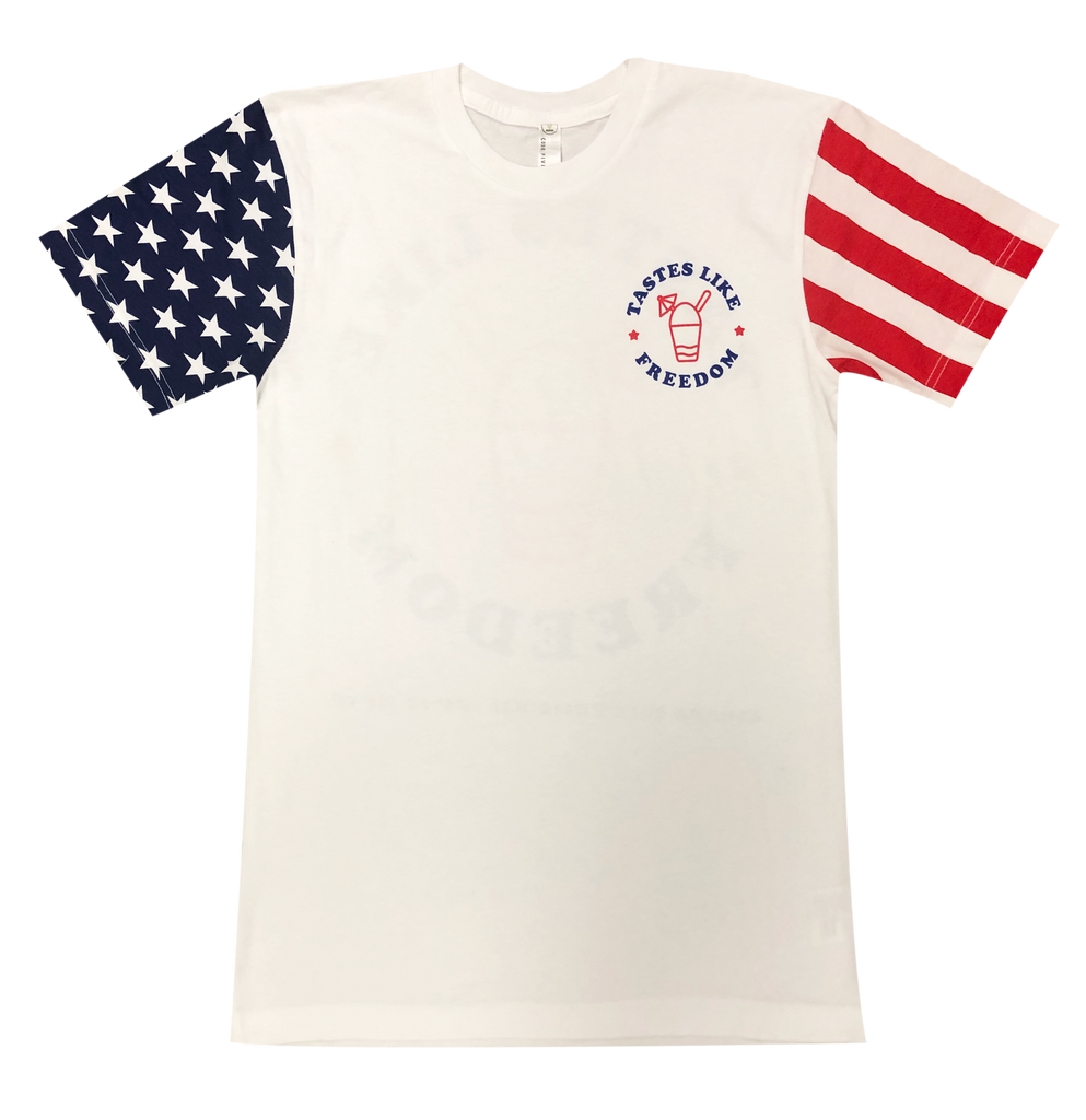 Stars and Stripes Tastes Like Freedom Tee