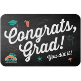 "A gift card that says ""Congrats, grad! You did it!"""