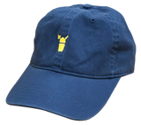 True Navy Comfort Colors with Yellow Snolo Hat