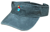 Coal Grey Visor with Full-color Snolo