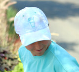 Front detail of Tie-Dye Hat