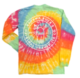 Back of Tie-Dye shirt