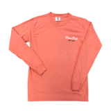 Front of Terracotta Long Sleeve Tee
