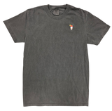 Pepper Comfort Colors Snolo Tee front