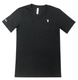 Black V-Neck with White Snolo Tee