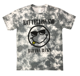 Gray Tie-Dye EYS Smiley Tee