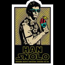 Han Snolo Sticker