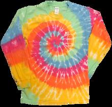 Front of Tie-Dye shirt