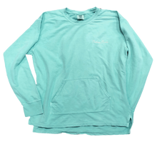 Front of Chalky Mint Pullover