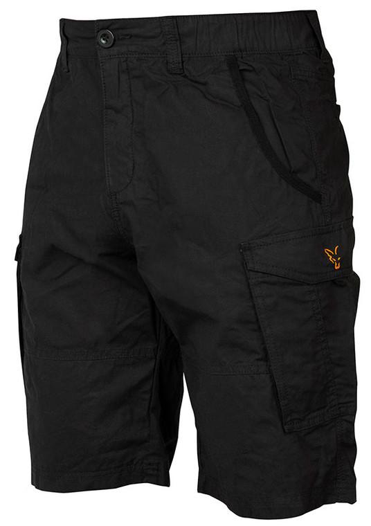 Fox Collection Black & Orange Combat Shorts