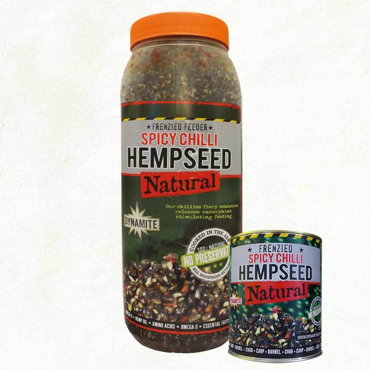 Dynamite Frenzied Chilli Hempseed  350g Tin