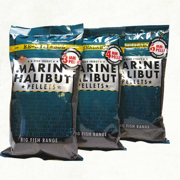Dynamite Marine Halibut Pellets