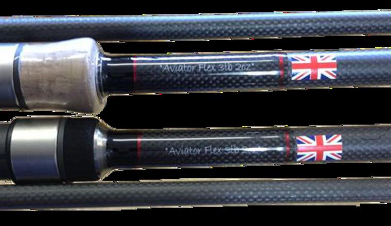 Harrison 12ft Aviator Flex Cork Rods
