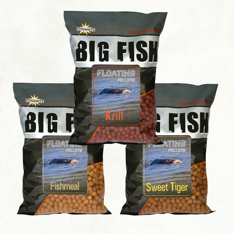 Dynamite Big Fish Floating Pellets - Fishmeal