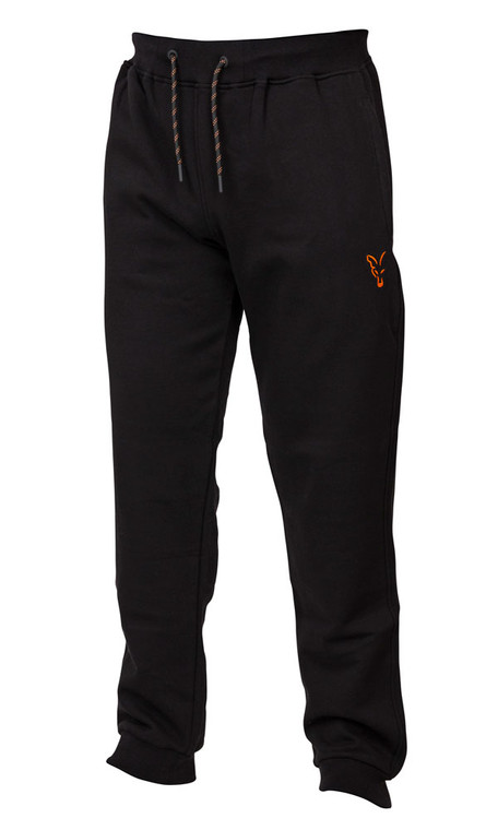 Fox Collection Black & Orange Joggers