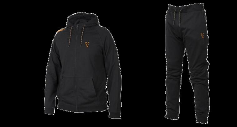 Fox Collection Black & Orange Lightweight Hoody & Jogger Combo