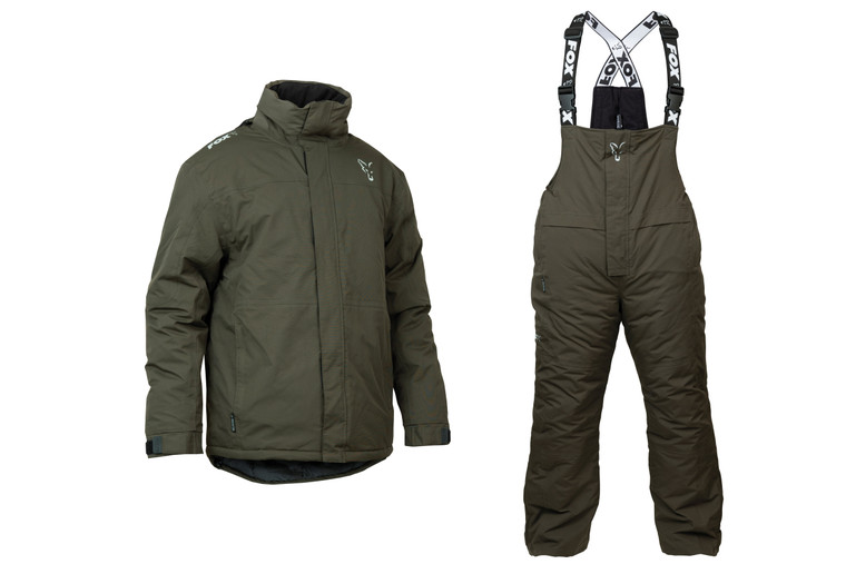 Fox Collection Green & Silver Winter Suits