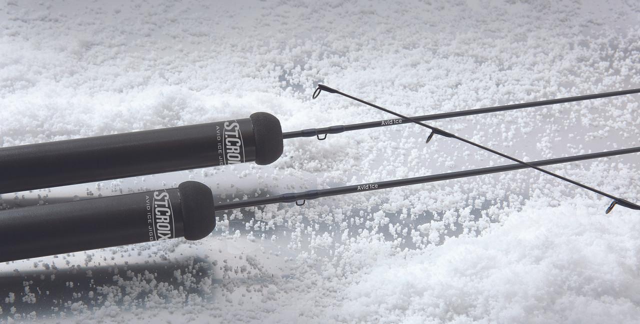 St. Croix Avid Ice Jigging Series Ice Fishing Rods