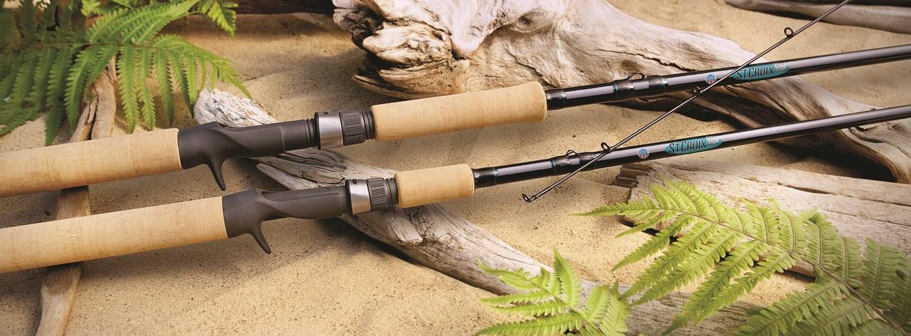 St. Croix Premier Series Bait Casting Fishing Rods