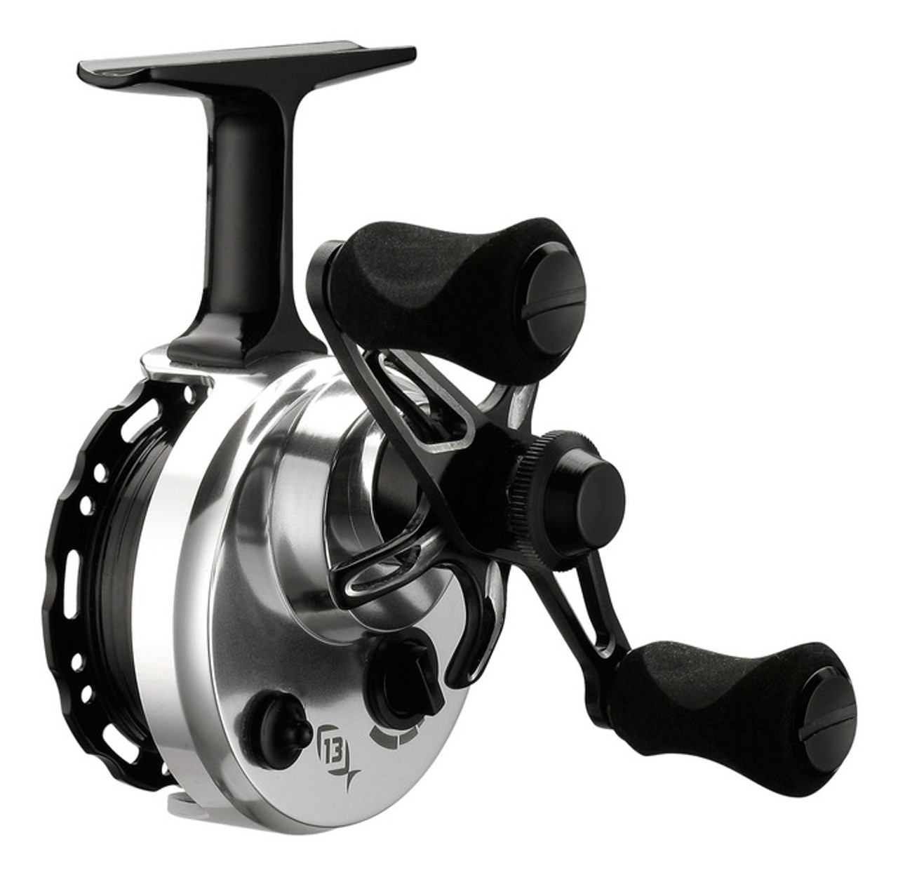 13 Fishing Black Betty 6061 Inline Ice fishing Reel (LH Retrieve)