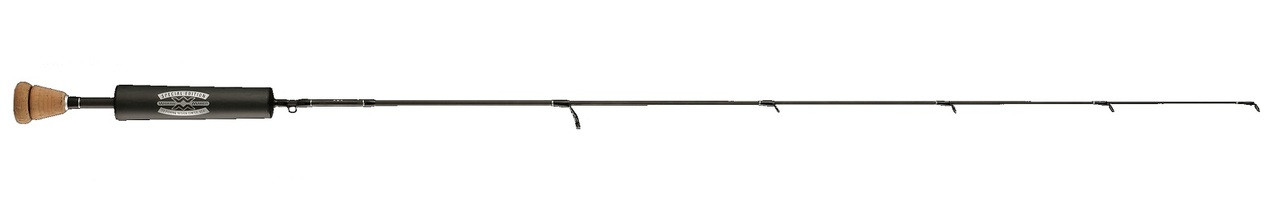 """13 Fishing Limited Edition """"Widow Maker"""" Ice Fishing Rod, with Carbon Handle (Split Handle)"""