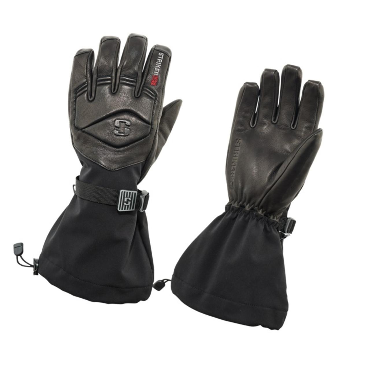 Striker Ice Combat Leather Ice Fishing Gloves