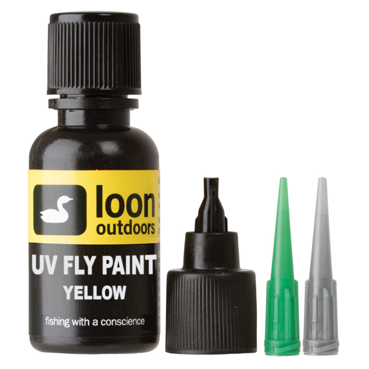 Loon Outdoors, UV Curing Fly Tying Paint, Yellow
