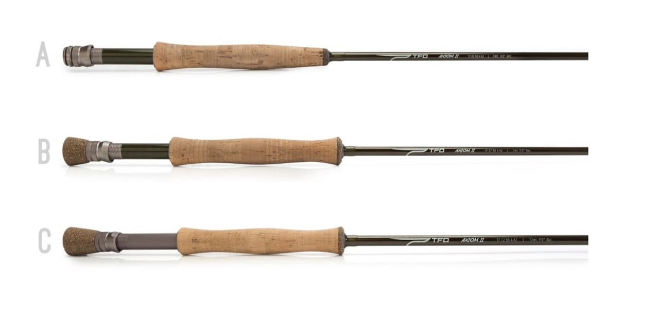 Temple Fork Outfitters TFO Axiom 2 Series Fly Fishing Rods