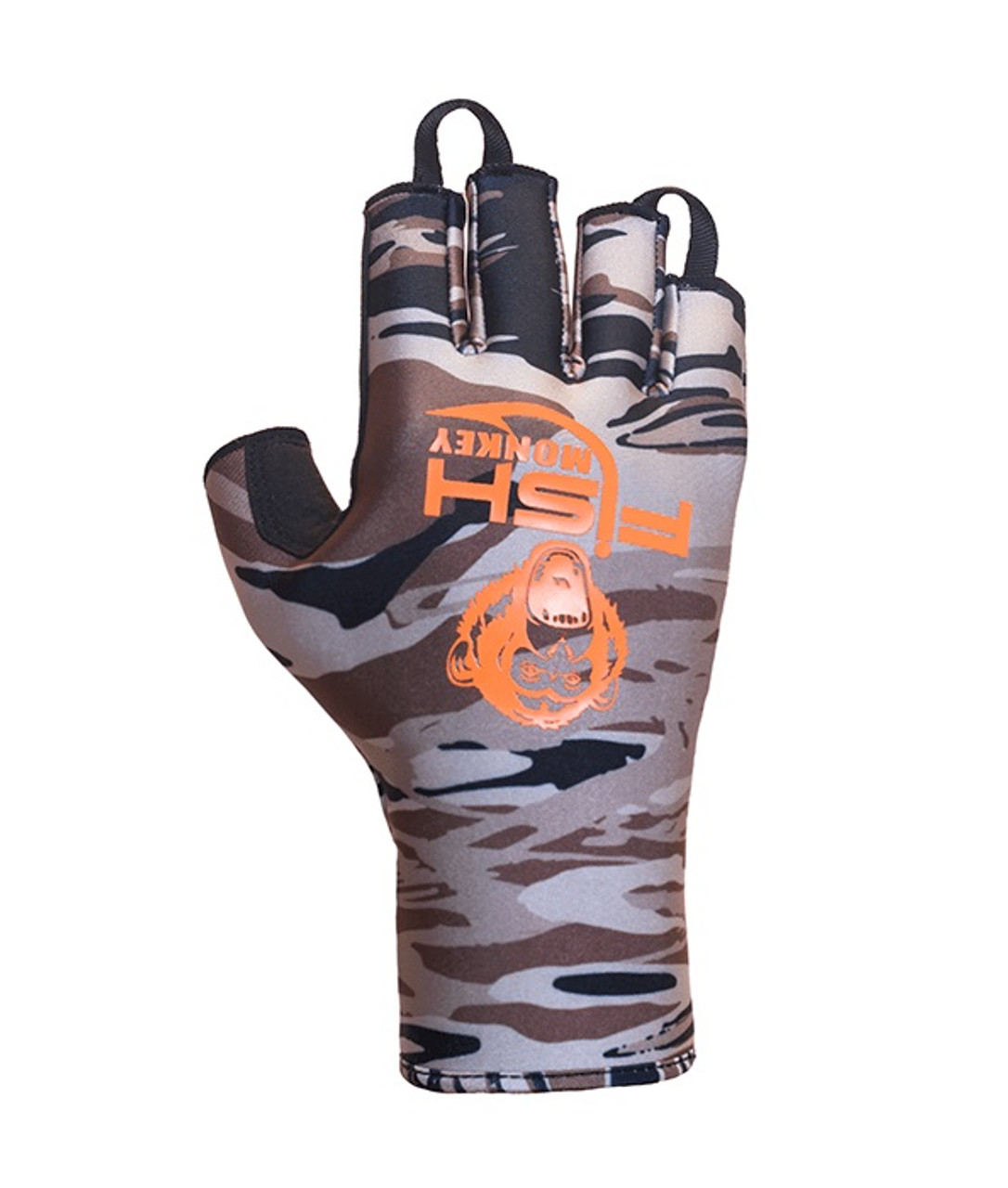 Fish Monkey Backcountry II Insulated Half-Finger Guide Gloves