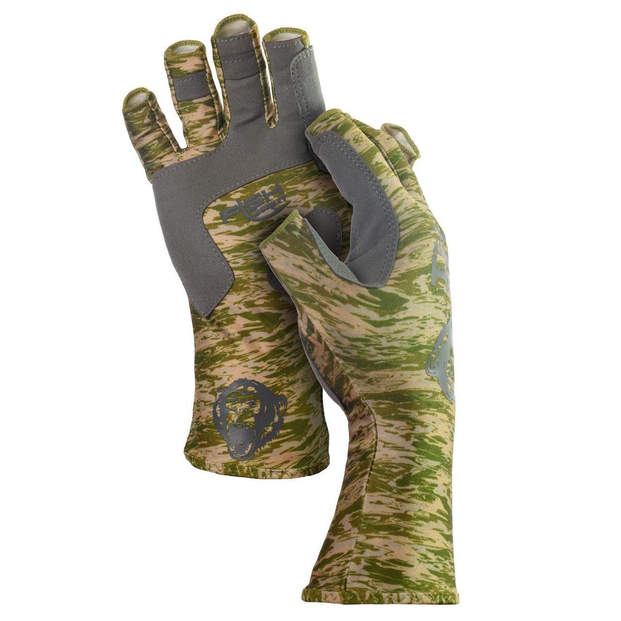 Fish Monkey FM11 Half-Finger Guide Gloves
