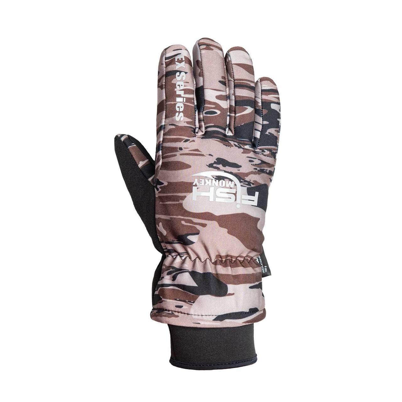 Fish Monkey FM31 Men's Tundra Ex Waterproof Premium Insulated Fishing Gloves