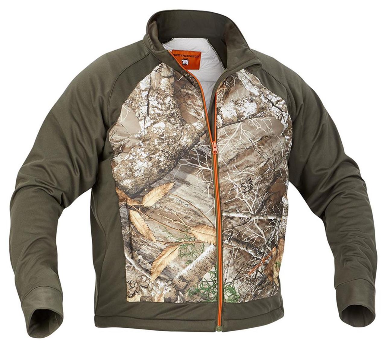Arctic Shield Men's Echo Loft Hybrid Camo Jacket
