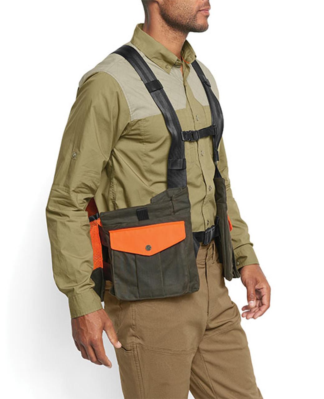 Orvis Waxed Cotton Strap Vest 6Y15