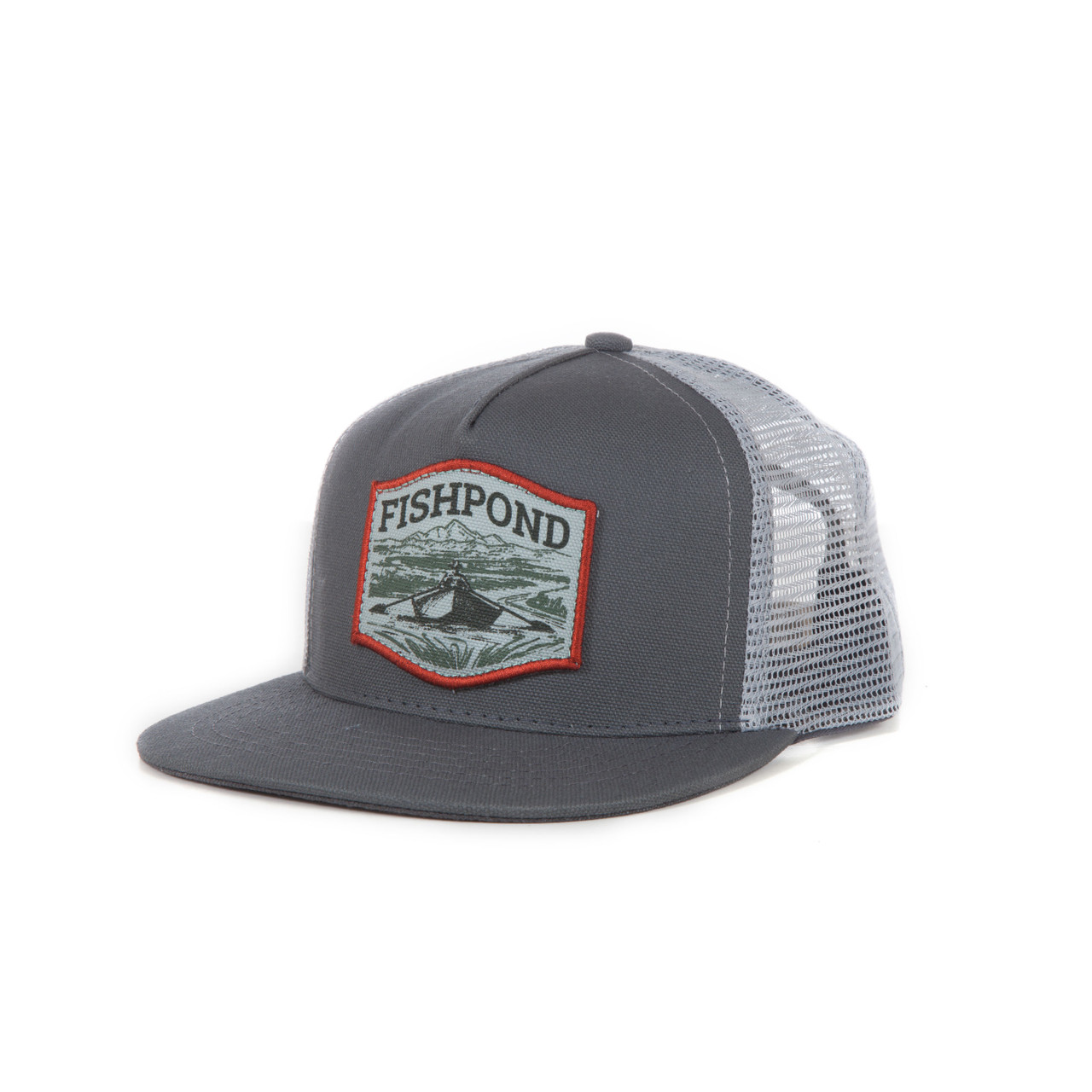 Fishpond Drifter Low Profile Cap, Granite/Clouds
